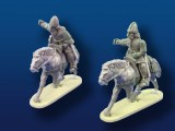 Mounted  Armored Vikings w/ Spears & Shields (2)